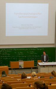 Familienpsychologischer Sachverständiger: Vortrag am 12.11.2018, Universität Kassel